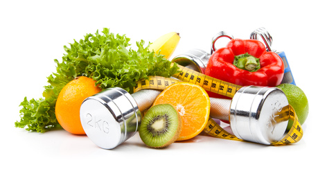 fitness equipment et fruits