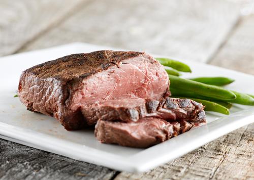 steak et légumes