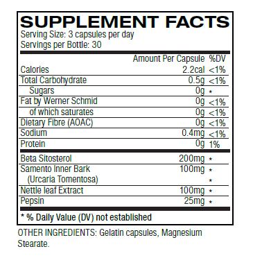 ingrédients de trénorol