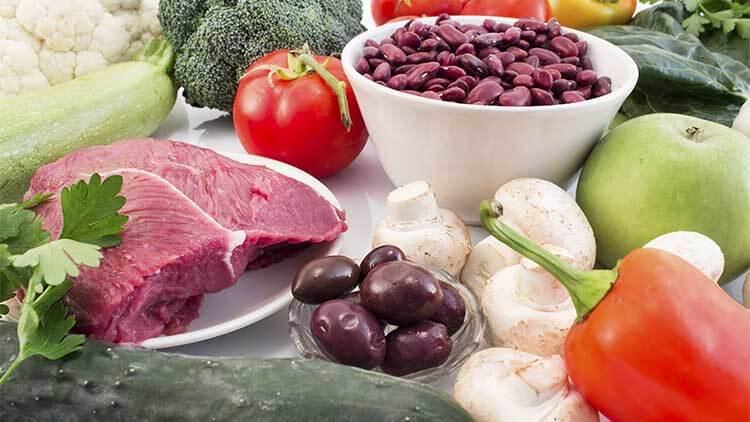 Alimentation saine recommandée pour le diabète et l'hypertension